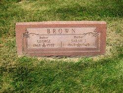 Sarah Jane <I>Eberhard</I> Brown