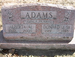 Alberta M. <I>Howard</I> Adams