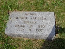 Minnie Radella <I>Linger</I> Miller