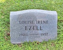 Irene Louise <I>Newman</I> Ezell