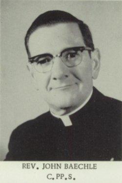 Rev Fr John Baechle