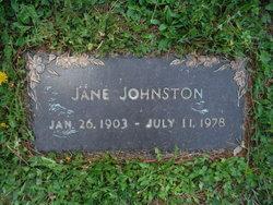 Priscilla Jane <I>Fister</I> Johnston