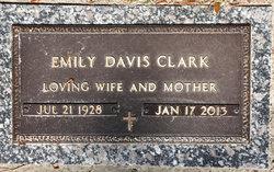 Emily <I>Davis</I> Clark
