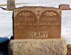 Sarah Alice <I>Brock</I> Clary
