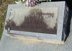 "Latishie ""Tish"" <I>Batten</I> Adams"