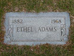 Ethel <I>Pomeroy</I> Adams