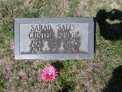 """Sarah """"Sally"""" <I>Gunter</I> Shook"""