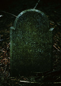Ruth <I>Harter</I> Goodykoontz