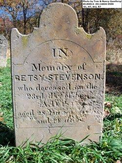 "Elizabeth ""Betsy"" <I>Walter</I> Stevenson"