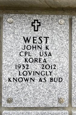 "John Keith ""Bud"" West"