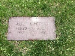 Alice Almira <I>Francis</I> Peters