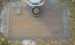 "Joseph Kirk ""Joey"" Adams"