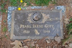 Pearl Irene <I>Jackson</I> Goff