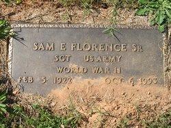 """Samuel Edwards """"Sam"""" Florence Sr."""