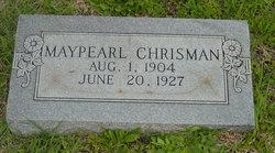 Agnes Maypearl Chrisman