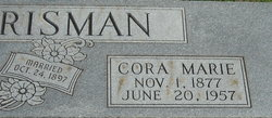 Cora Marie <I>Day</I> Chrisman