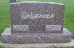 Ethel May <I>Parrish</I> Delawyer