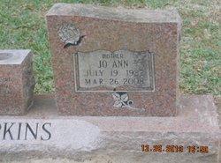 JoAnn <I>Comeaux</I> Hopkins