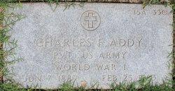 Charles F Addy