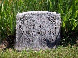 Mary Judith <I>Main</I> Adams