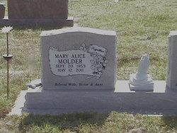 Mary Alice <I>Stucks</I> Molder