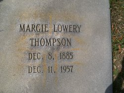 Margie <I>Lowery</I> Thompson
