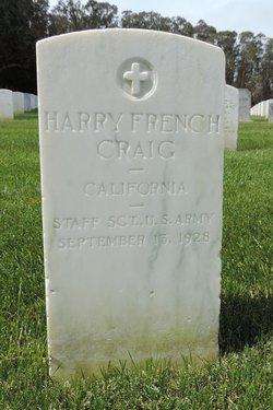 Harry French Craig