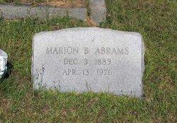 Marion Benjamin Abrams