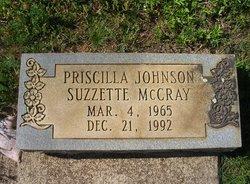"""Priscilla """"Suzzette"""" <I>Johnson</I> McCray"""
