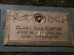 Clara Mae <I>Bosse</I> Kirtley