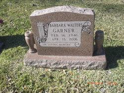 Barbara Ann <I>Walters</I> Garner
