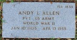 Andy L Allen