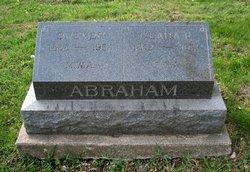 Clara Eliza <I>Grover</I> Abraham