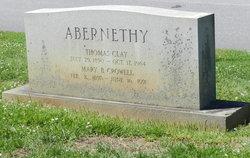 Mary B <I>Crowell</I> Abernethy