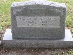 Paula Irene <I>Gibson</I> Adee