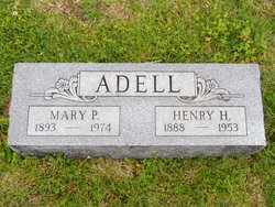 Mary Pauline <I>Jenkins</I> Adell