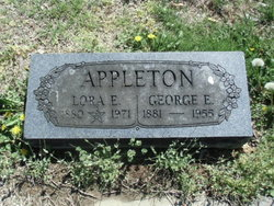 Lora E. <I>Hankins</I> Appleton