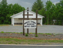 Mineral Springs Mountain Baptist Church Cemetery