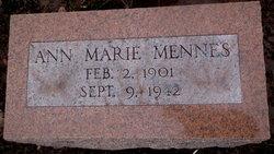 Ann Marie <I>Goldthorpe</I> Mennes