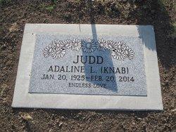 Adaline Louise <I>Knab</I> Judd