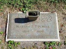 "Marta S ""Martha"" <I>Smeja</I> Olszewski Folwell"