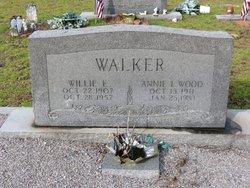 Annie Lee <I>Wood</I> Walker