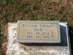 """William """"Dub"""" Thomas"""