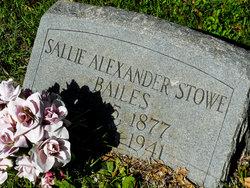 Sallie <I>Alexander</I> Bailes