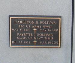 Carleton E Bolivar