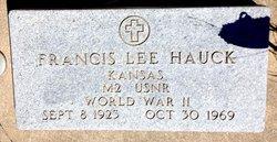"Francis Lee ""Bud"" Hauck"