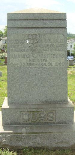 Amanda Elizabeth <I>Carothers</I> Dubs