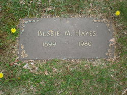 Bessie L. <I>Mead</I> Hayes