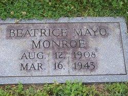 Gathel Beatrice <I>Mayo</I> Monroe
