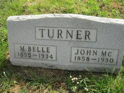 Minnie Belle <I>Culbertson</I> Turner